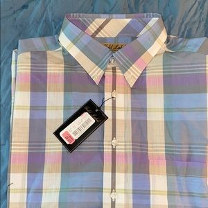 Size XL Roundtree & Yorke Shirt SS Men's NWT